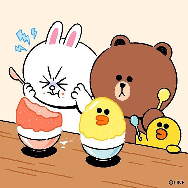 LINE FRIENDS同Tokyo Bingsu合作推出刨冰。