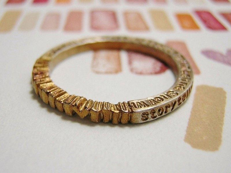 """mille±feuille(Millefeil)在法語中的意思是""""千葉""""。一個指環,用於堆疊單詞的葉子一次或多次。 。*"""