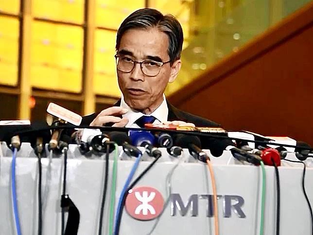 港鐵車務總監劉天成。