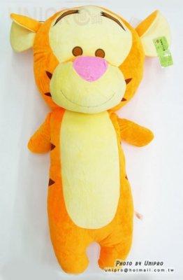 【UNIPRO】跳跳虎 Tigger 92公分 絨毛玩偶 娃娃 造型長枕 男友 抱枕 超大 小熊維尼的朋友