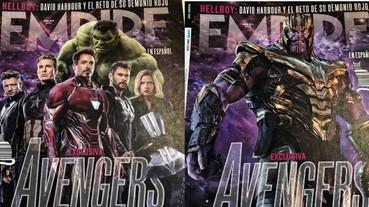薩諾斯穿上盔甲超霸氣!《復仇者聯盟 4》初代六人久違感動合體 登上最新雜誌封面!