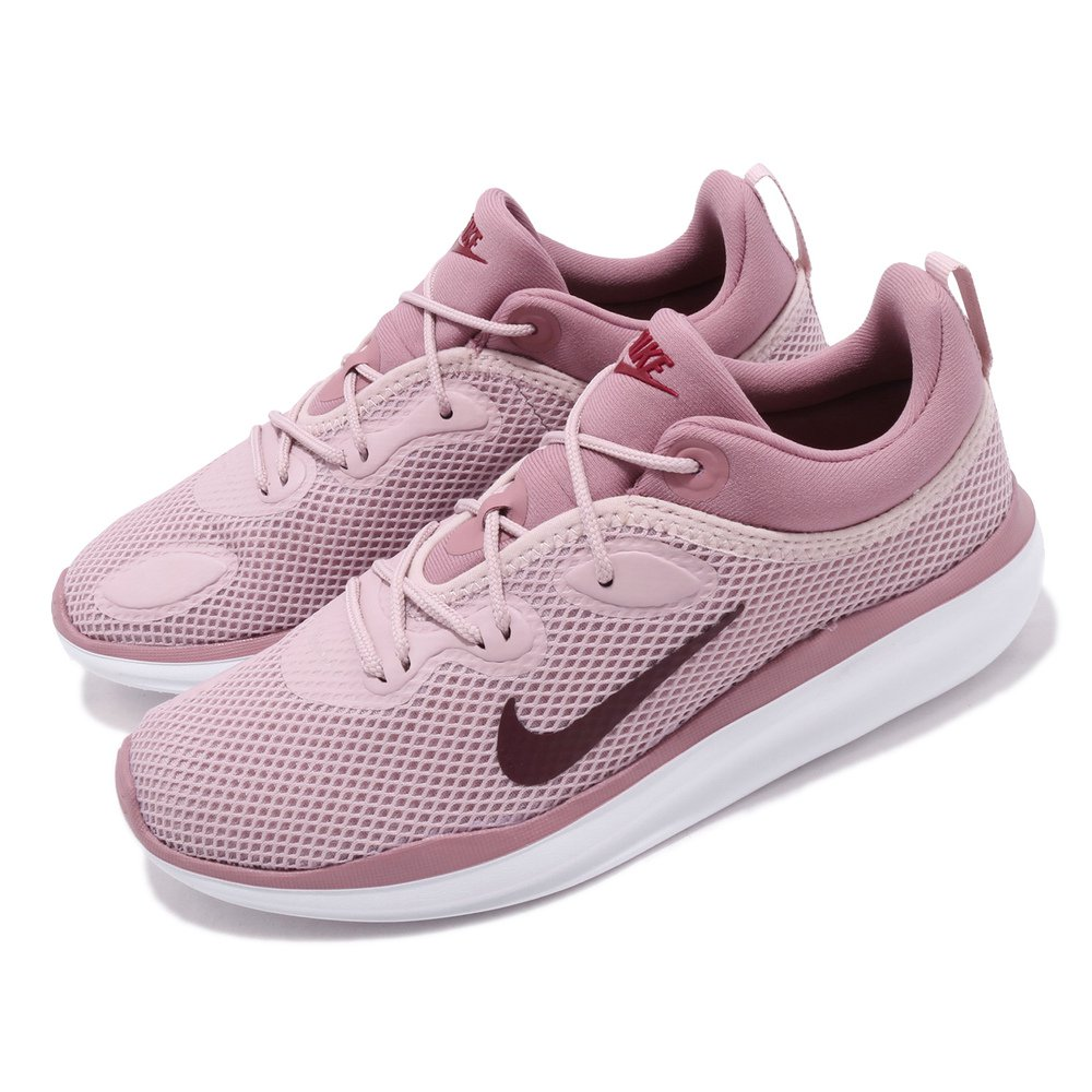 NIKE 休閒鞋 ACMI 低筒 穿搭 女鞋 輕量 透氣 舒適 球鞋 穿搭 簡約 粉 白 [AO0834-500]