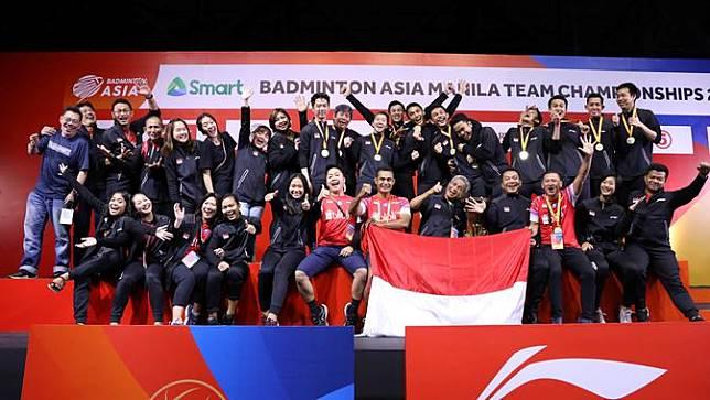 Kejuaraan Bulutangkis Beregu Asia 2020