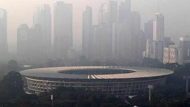 Image result for anies baswedan polusi udara