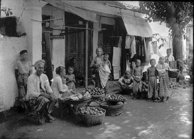 pasar mampang tahun 1930 indonesiajamandulu (facebook)