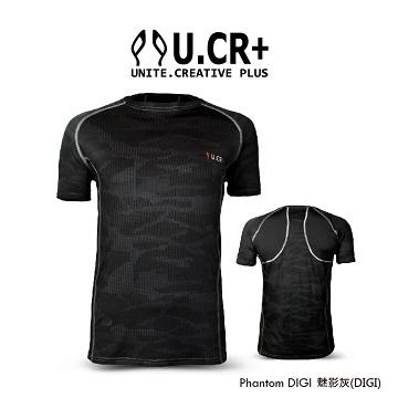 U.CR+ 吸濕排汗機能服 - PHANTOM DIGI 魅影灰