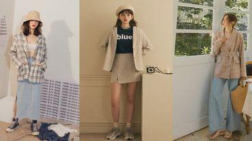小資女上班必備!網路熱牌「平價西裝外套」推薦,大人系奶茶色、潮人必備格紋、暖暖秋色,輕鬆搞定上班Look!