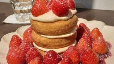 草莓大軍來啦!全台嚴選八間草莓人氣蛋糕、冰品、舒芙蕾攻佔你的相機!