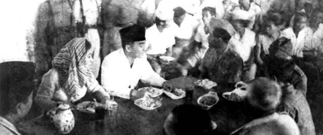 Sukarno dan Gerakan Makan Jagung
