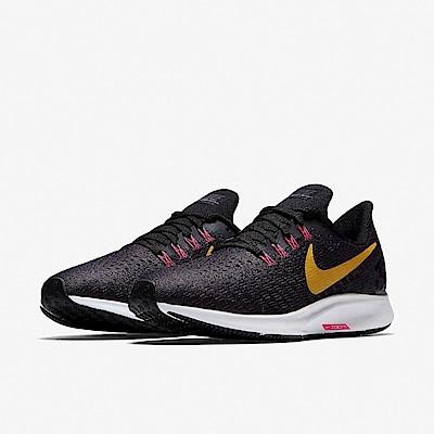 品牌: NIKE型號: 942855-008品名: Wmns Nike Air Zoom Pegasus 35配色: 紫色 黃色特點: 跑鞋 路跑 健身 氣墊 舒適 球鞋 紫 黃