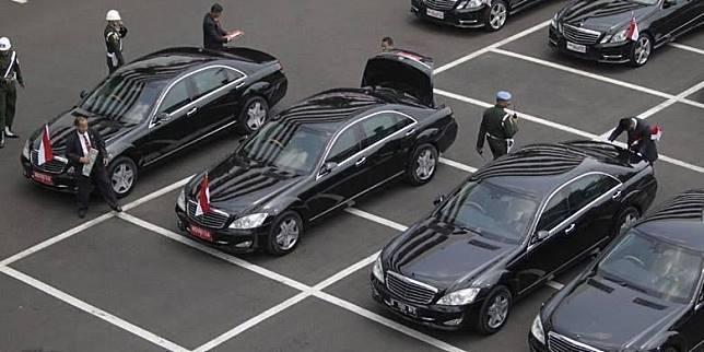 Ilustrasi Mobil Presiden Jokowi, Mercedes-Benz s600 Guard