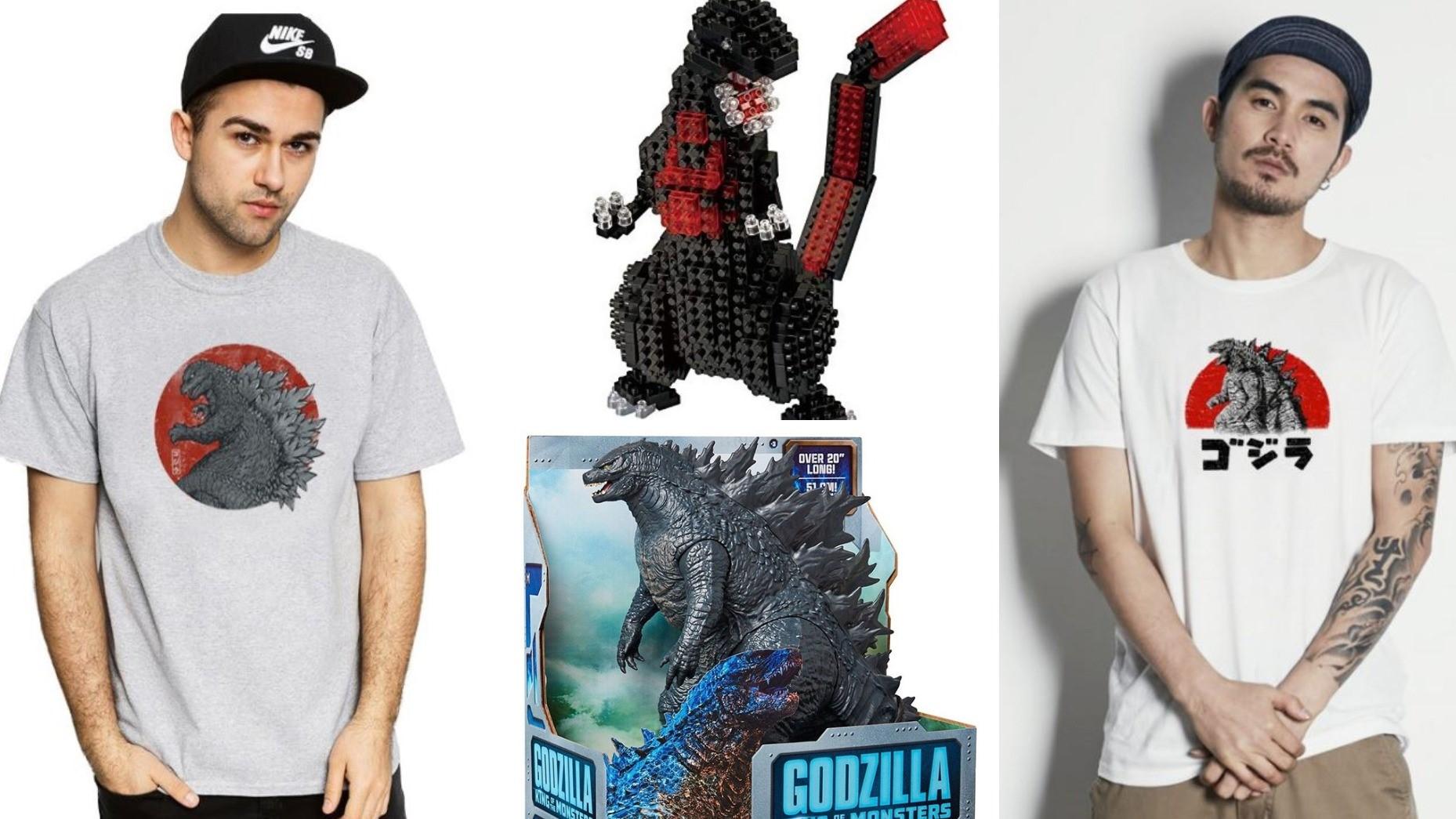 電影哥吉拉II:怪獸之王看不夠嗎?店面限定商品一次收集