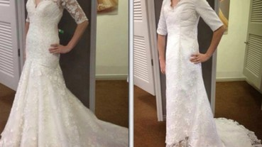 就叫你別在網路買婚紗了吧!收到這些悲情商品讓人想哭