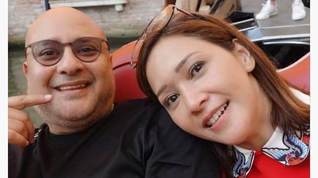 Irwan Mussry dan Maia Estianty. (Instagram/@maiaestiantyreal)