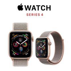 Apple Watch Series 4 LTE Sport 44mm金鋁/沙粉錶環 MTVX2TA/A