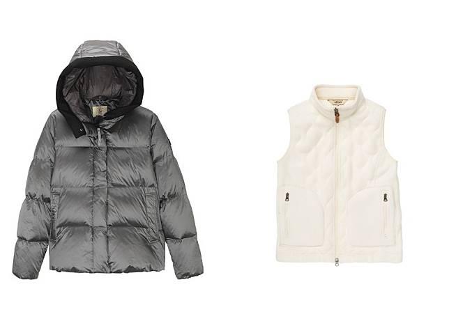 NUTODI SH IR Down Jacket、VERAN Vest(互聯網)