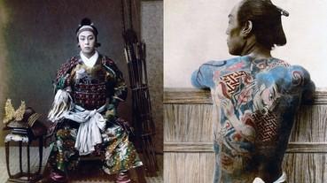 日本真正的「末代武士」 珍貴的古代軍人歷史寫真!