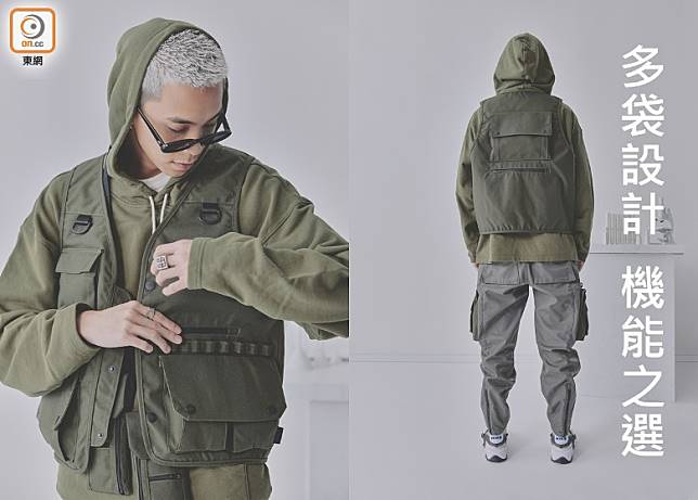 CORDURA®Tactical Vest in Olive(互聯網)