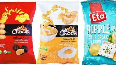 荷包蛋口味洋芋片啥味道?! ibon mart線上購物推出超過90種口味異國洋芋片~鳳梨火腿、黑松露一次滿足