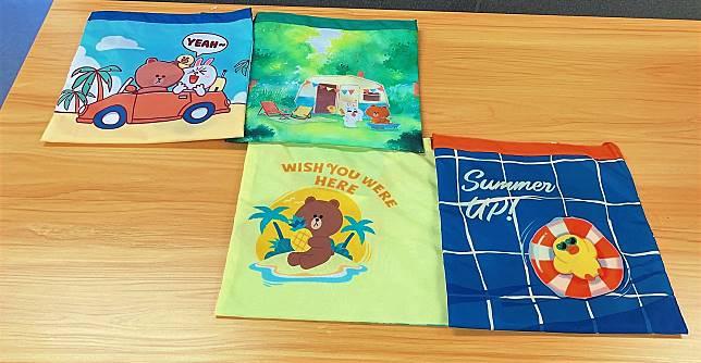 環保購買袋:形狀正正方方,物料輕盈,簡便實用。($89/個)
