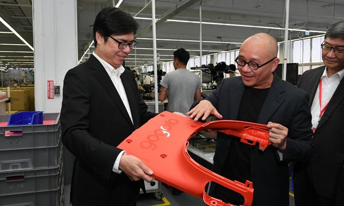 行政院表示明年將持續補助購買電動機車,政府重視電動機車電池電芯國產化