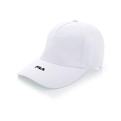 FILA 時尚 LOGO 帽-白 HTT-1003-WT