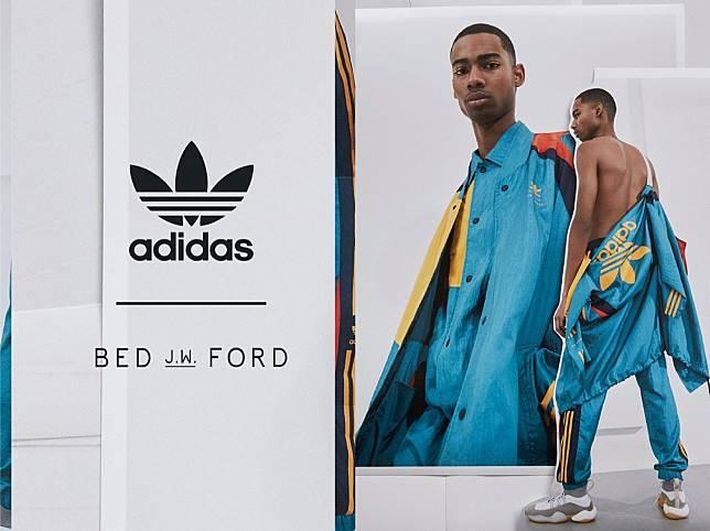 # BED j.w. FORD × adidas Originals:男性優雅的運動時裝