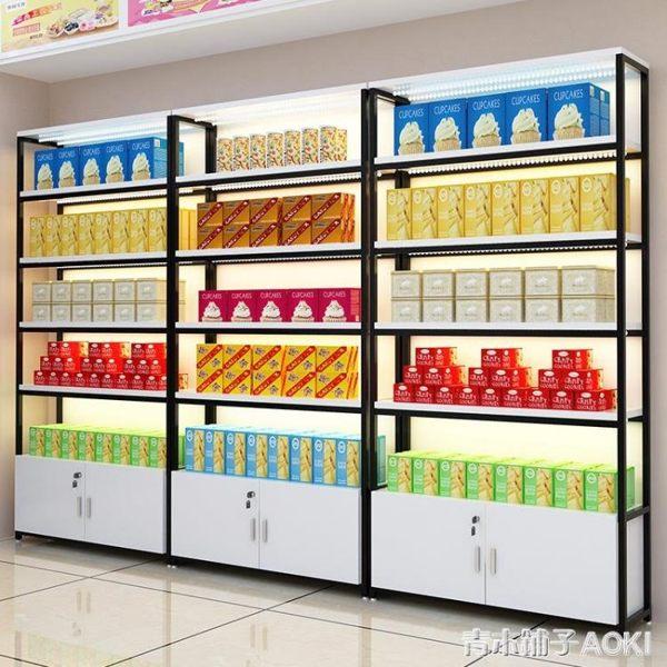 超市貨架內衣展示柜自由組合手機配件飾品掛鉤架便利店零食置物架