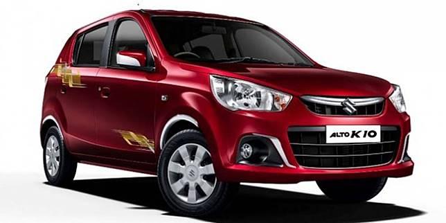 Suzuki Alto K10 2019 versi India (GaadiWaadi)