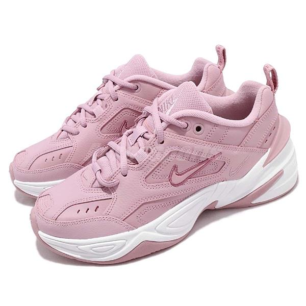 版型正常 AO3108500 老爹鞋 女孩球鞋穿搭推薦款式 百搭熱銷款 復古穿搭 粉粉DER