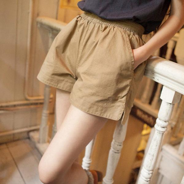 休閒短褲女寬鬆日韓高腰大碼顯瘦闊腿運動熱褲夏季新款外穿潮森雅誠品 森雅誠品
