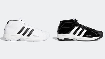 新聞分享 / 你可能穿過它但這次有點不同 adidas Pro Model 2G 搭載 BOUNCE 中底科技重生