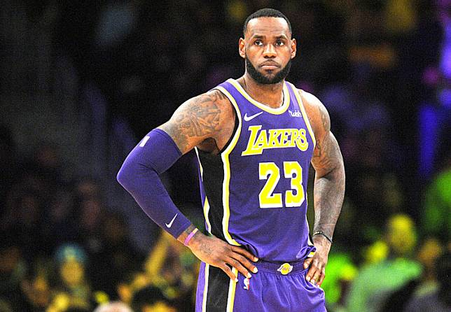 NBA superstar LeBron James said Saturday he would opt out of wearing a social justice message on the back of his jersey because it doesn't