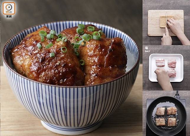 外脆內香軟的豆腐豚肉卷,用來送飯滋味可口。(互聯網)