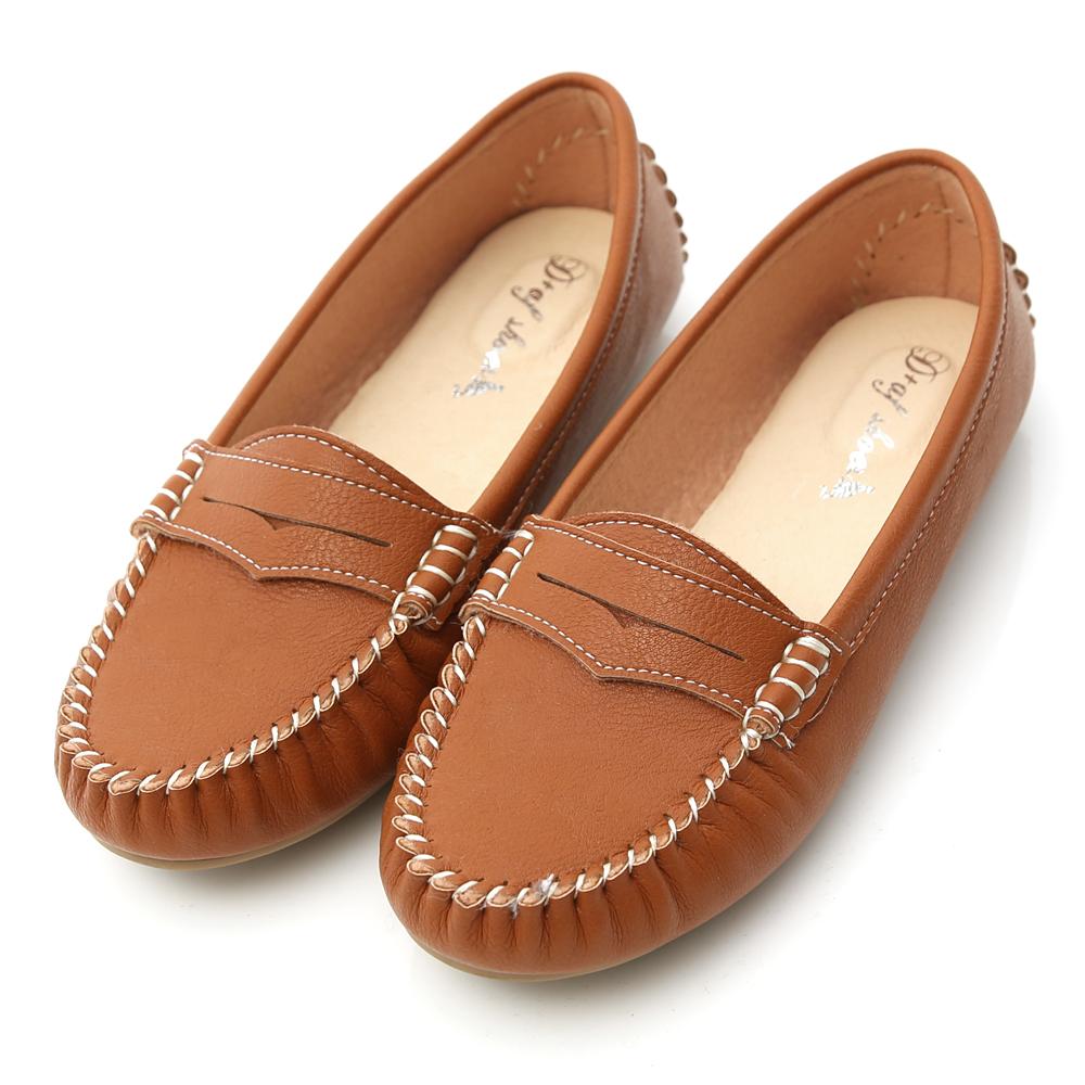 D+AF 悠活主張.MIT舒適莫卡辛豆豆鞋