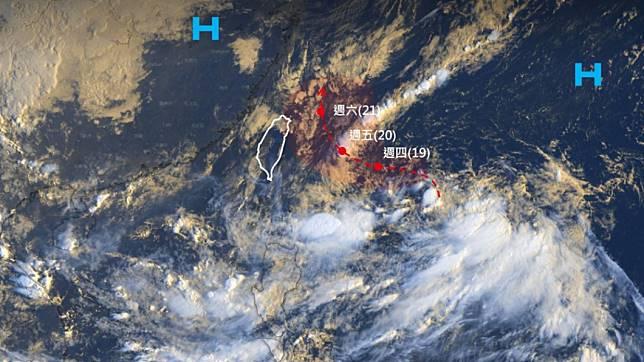 臉書專頁「台灣颱風論壇|天氣特急」