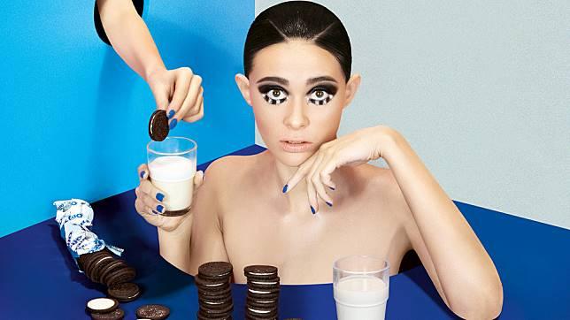 Inspirasi makeup dari Oreo (dok. Dookie Ducay)