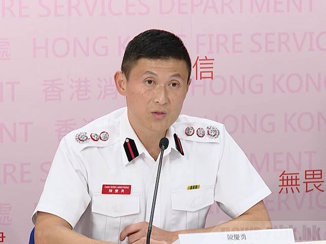 陳慶勇說,事後核實資料再修改紀錄,是處方的一貫做法。(廖漢榮攝)