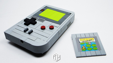 LEGO Ideas 以積木還原 Nintendo Game Boy!