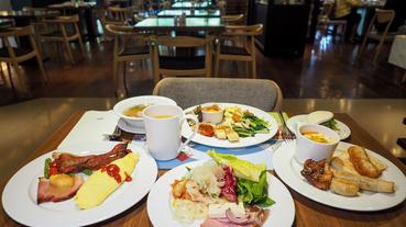 【台南住宿】台南大員皇冠假日酒店早餐 多種台式早餐品項任你吃 來碗牛肉湯夠台南!