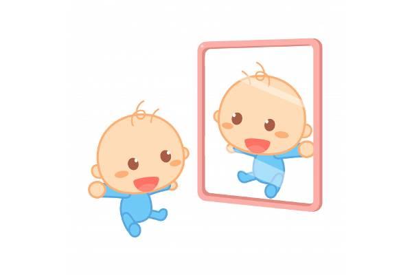 5 Manfaat Bercermin untuk Bayi