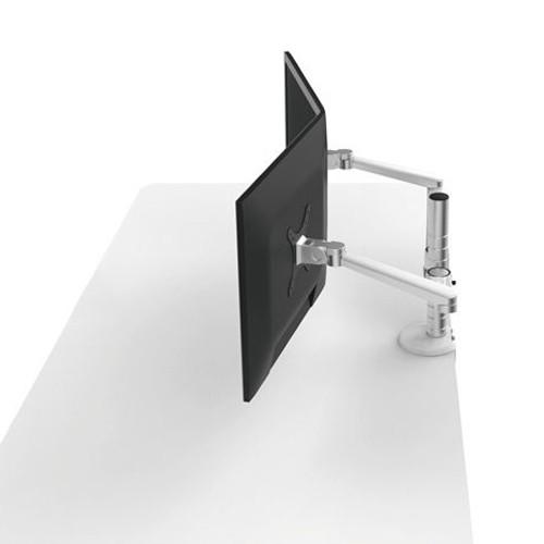 #JYstore UPERGO#JYstore 桌面托架UPERGO折疊式平板電腦支架夾具長度 A是4.2公分 B大約是6公分●全維度可調●雙節臂組合●鋁合金打造●金屬骨架底座創建更健康的工作方式,並