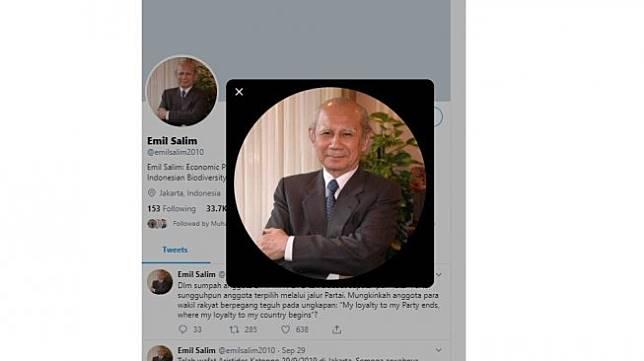 Emil Salim (twitter @emilsalim2010)