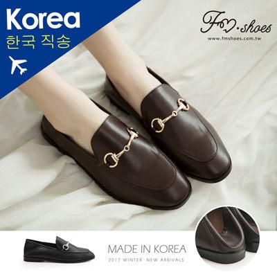 紳士.金屬飾後踩紳士鞋-FM時尚美鞋-韓國精選. Focus