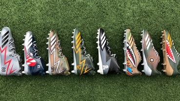 新聞分享 / 致敬退役軍人 adidas 為 NFL 選手訂製 'Squadron Pack' 特別款美式足球鞋