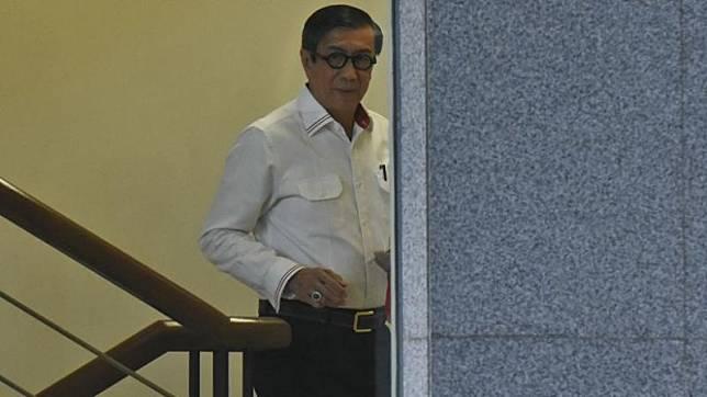 Menteri Hukum dan HAM (Menkumham) Yasonna Hamonangan Laoly. (Foto: Antara).