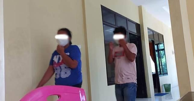 Warga Kota Bitung dihebohkan dengan kejadian ibu dan anak melakukan hubungan intim (Foto : iNews.id/Balo)
