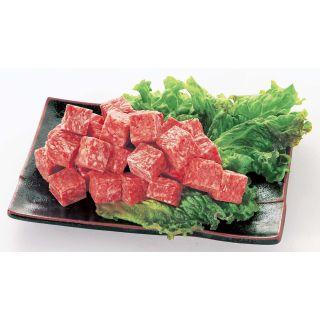 牛サイコロステーキ(味付・解凍)成型肉