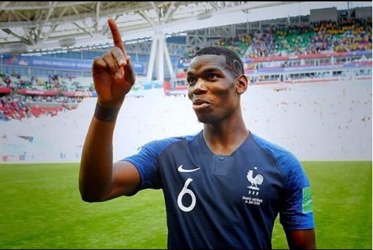 Beredar Video Pidato Pogba Jelang Prancis Vs Kroasia di Piala Dunia 2018