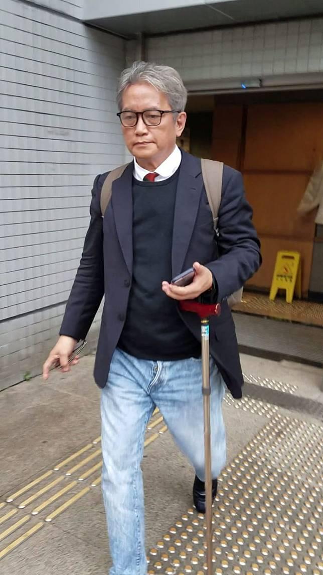 67歲被告顏尊理報稱劍道教練。林欣樂攝